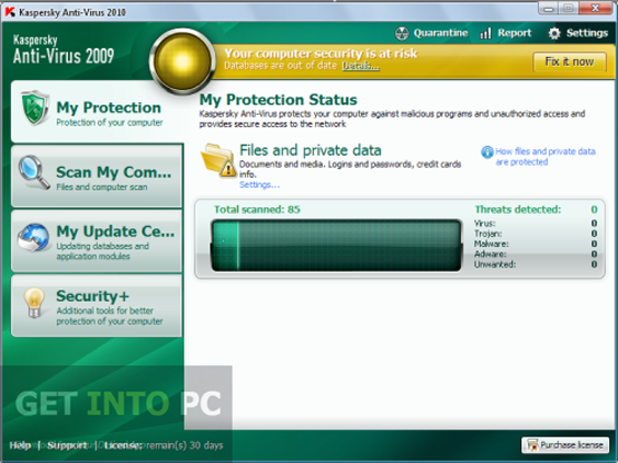 Kaspersky antivirus 2010 free download Online antivirus download