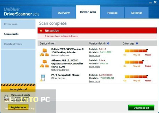 UniBlue Driver Scanner 2013 Latest Version Download