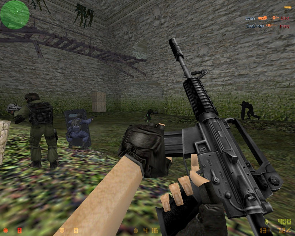 play counter strike game