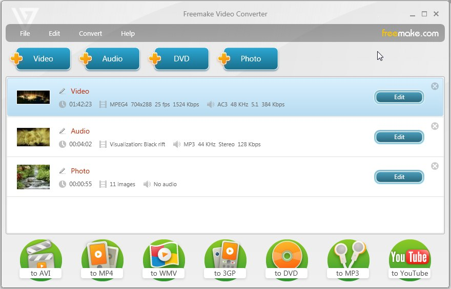 faizan ahemd free video converter supports 200 formats