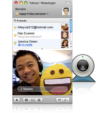 download free yahoo messenger video call