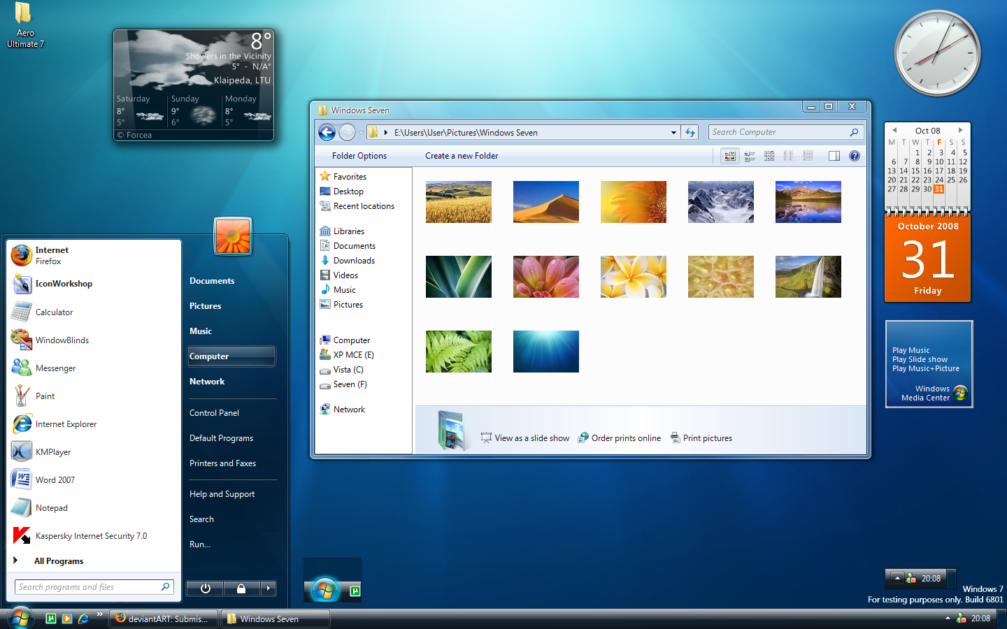 Detailed Windows 7 Features are listed on official Windows site .