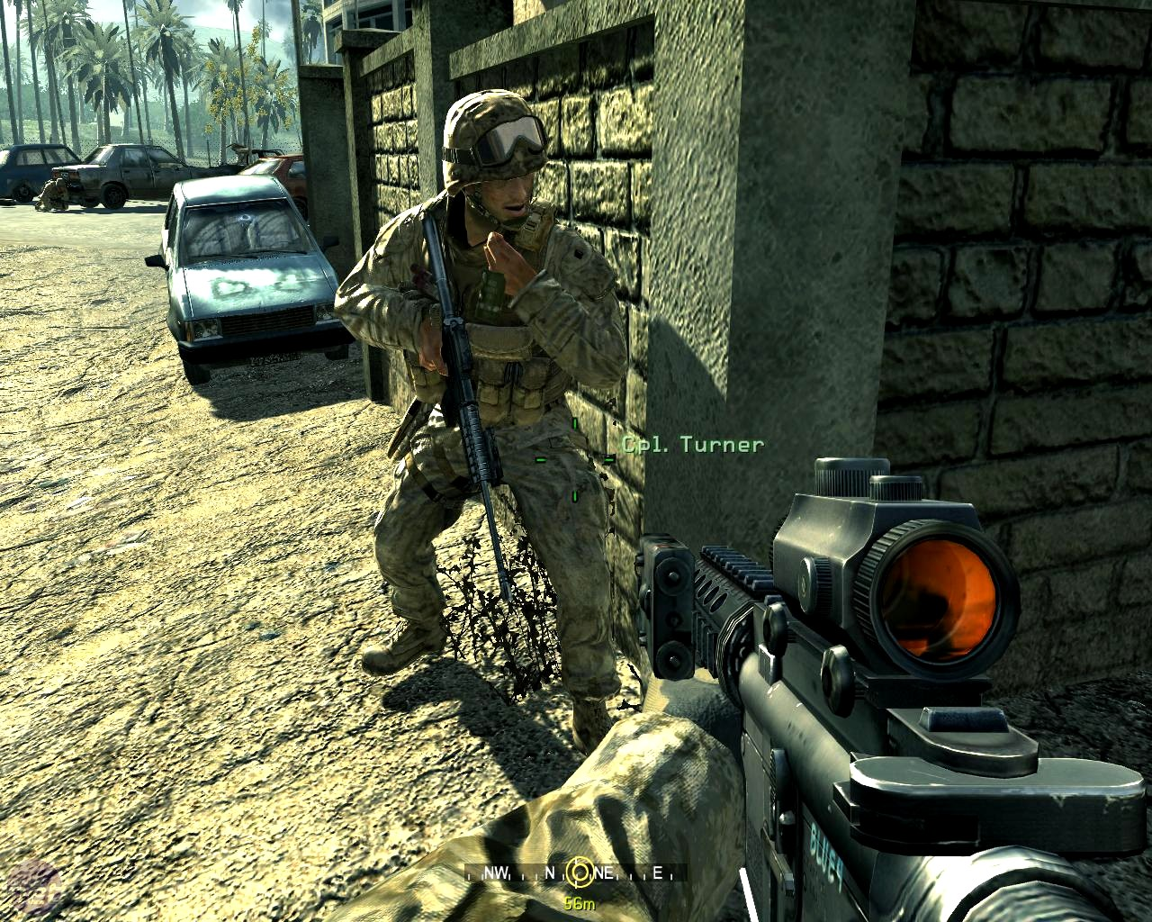 Call of Duty 4 Modern Warfare Download Free PC Game in single link