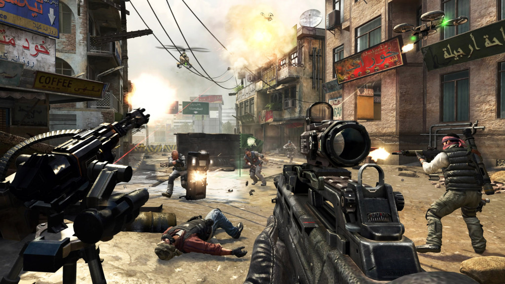 Call of Duty 4 Modern Warfare fitur