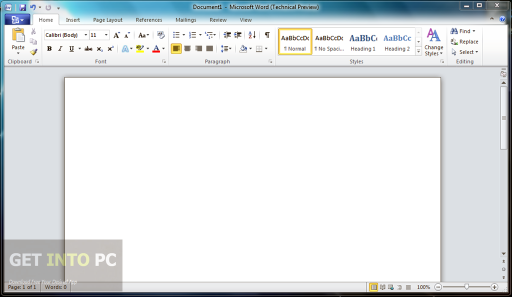 Office 2010 Professional ISO Download