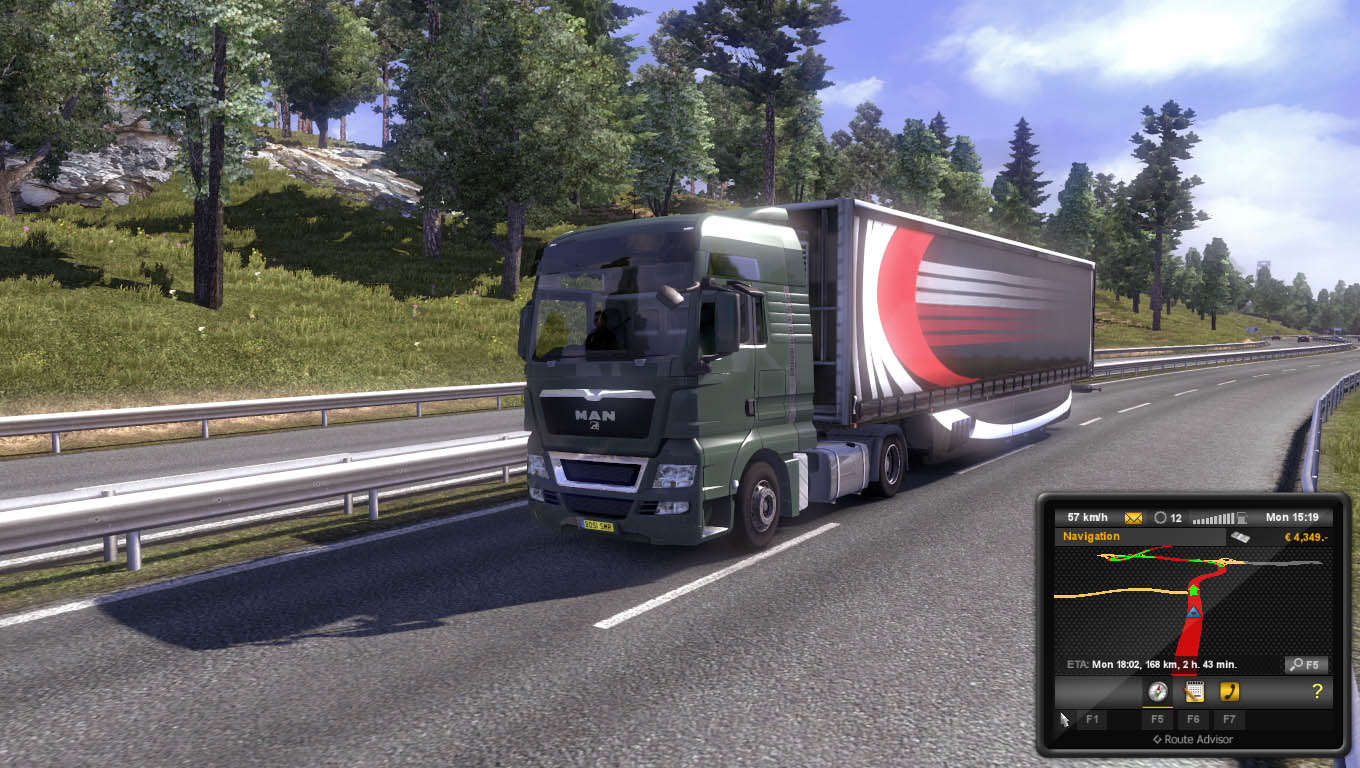 Euro Truck Simulator 2 Highly Compressed PC Game Free