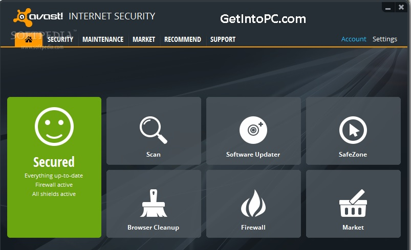 download avast internet security 2013 free