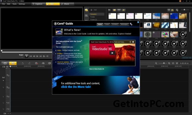 corel videostudio pro x6 free download features
