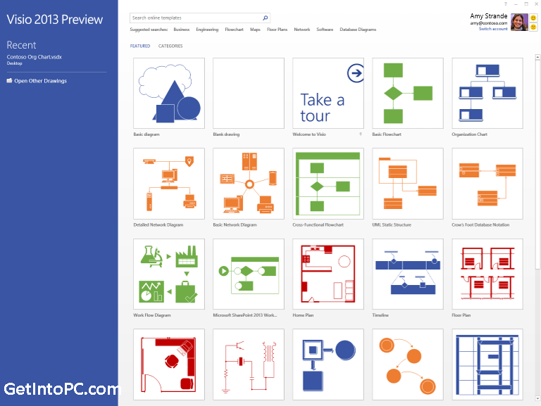 free microsoft visio 2013 professional download