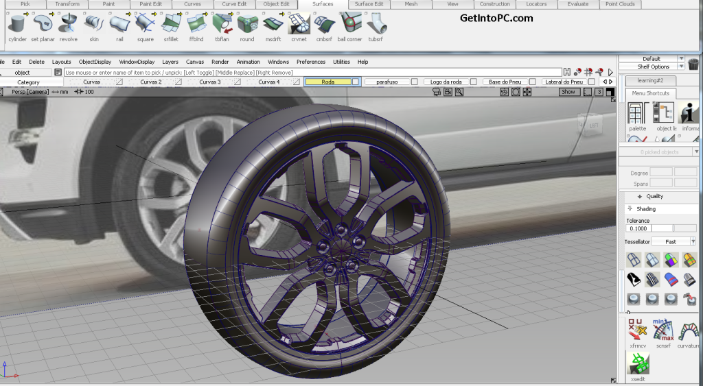 Download Autodesk Alias Automotive 2014 Free download