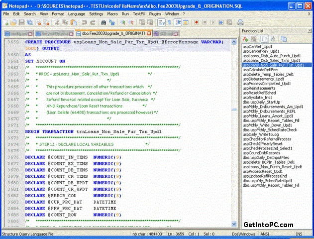 Download Notepad++ Free Latest Version Setup For Windows