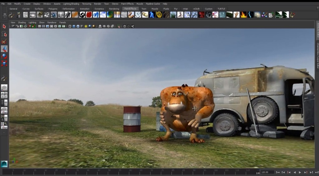 Autodesk Maya 2014 Free Download