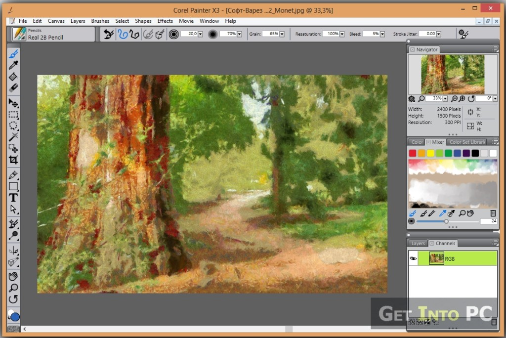 Corel painter x3 download free version for windows and mac for Painting programs free download