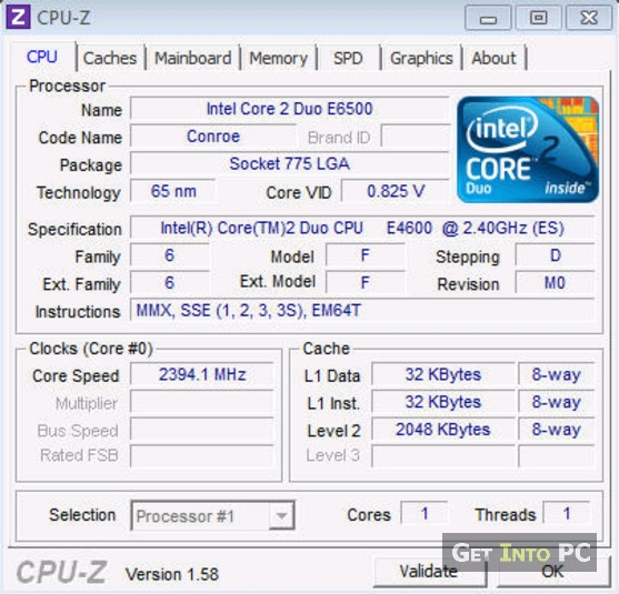 cpu z free download for windows