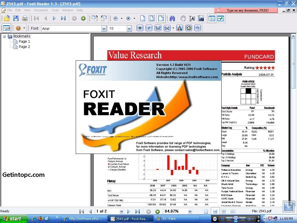 foxit reader Free Download For Vista