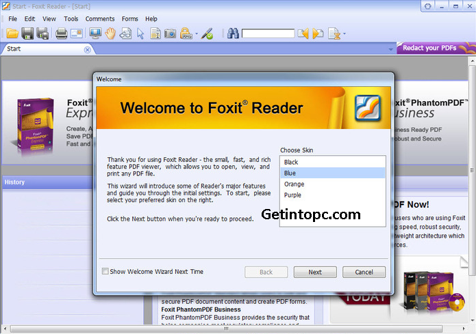 free download foxit pdf reader for windows xp