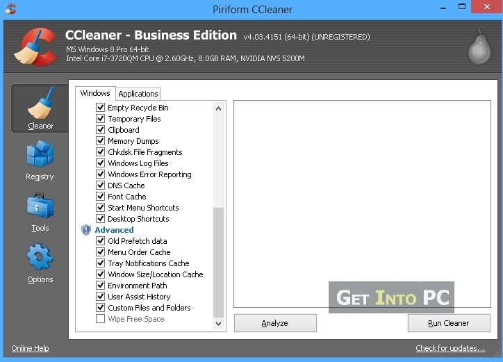 step 1 Open CCleaner
