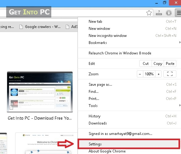 step 2 change proxy on chrome