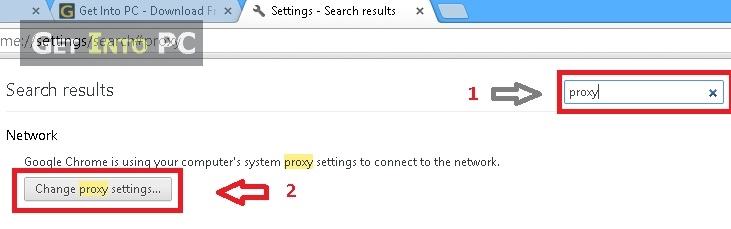 step 3 how to change proxy on chrome