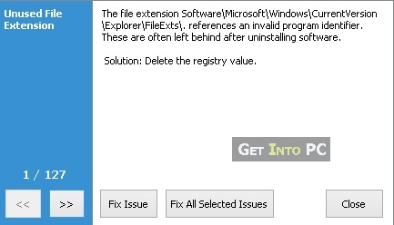 step 4 fix all selected issues
