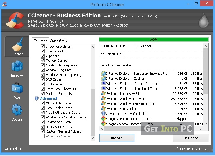 step 5 Free up C Disk Space completed