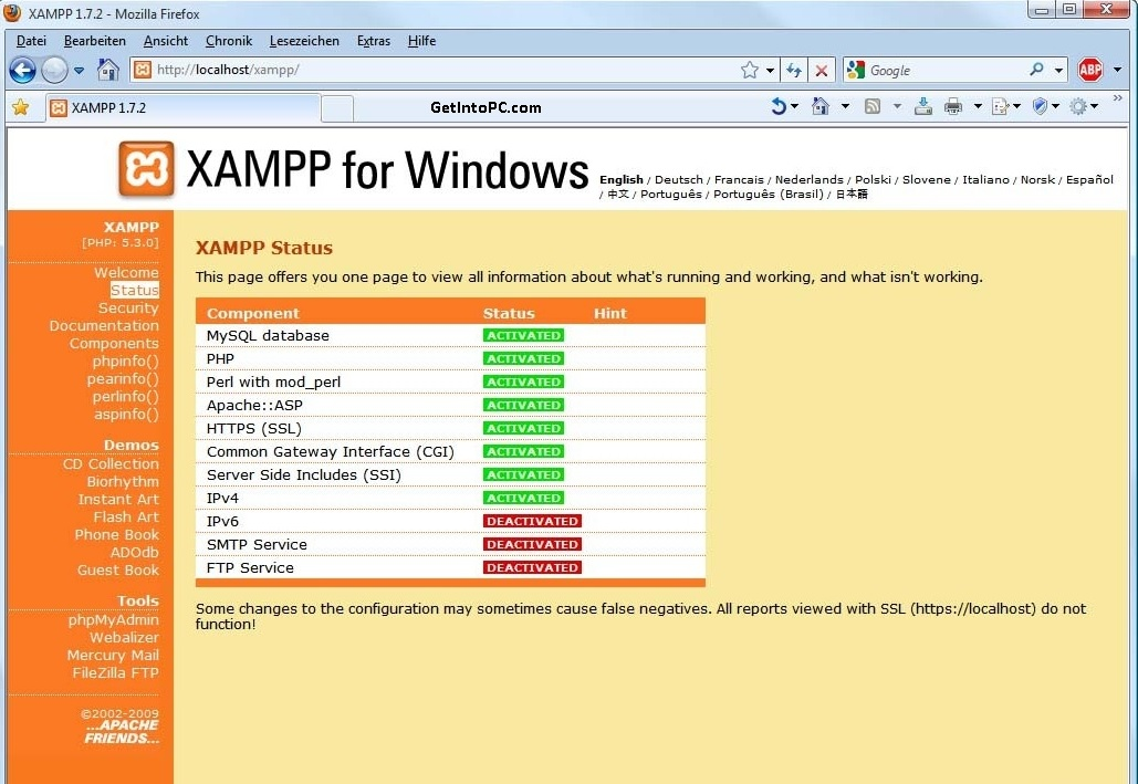 XAMPP WINDOWS TÉLÉCHARGER 64 8.1 BITS