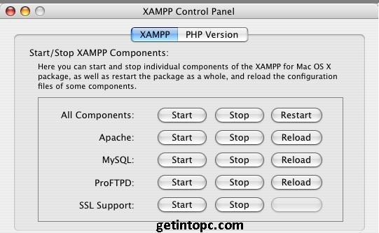 xampp download mac