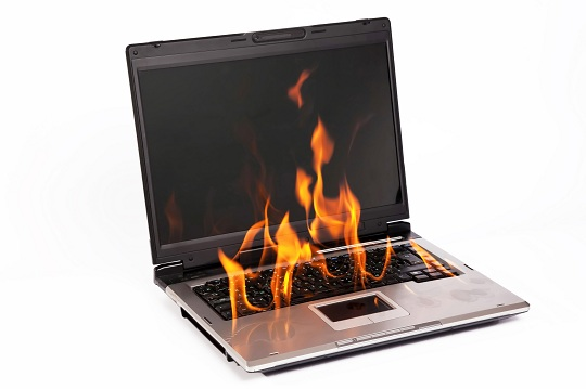 prevent dell laptop overheating