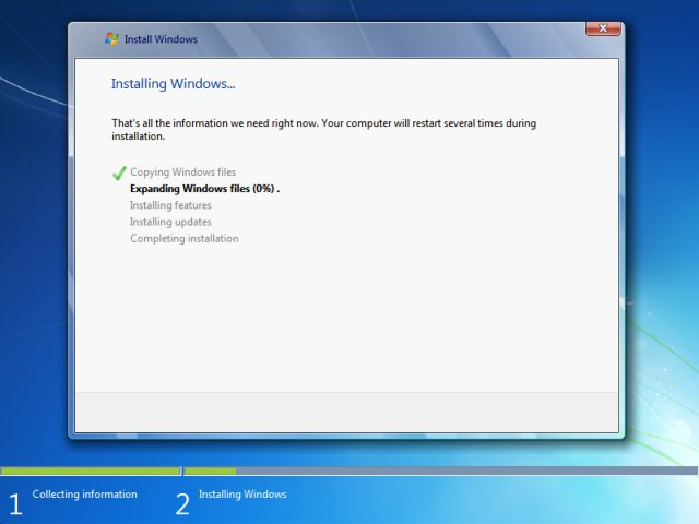 how to install windows 7 step by step method for beginners