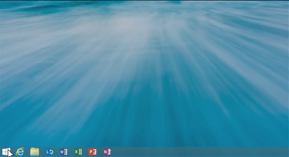 windows 8.1 start button vs win 8