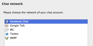Multiple Channel Chat of thunderbird