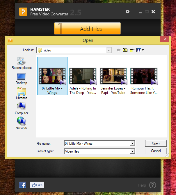How To Use HAMSTER Free Video Converter