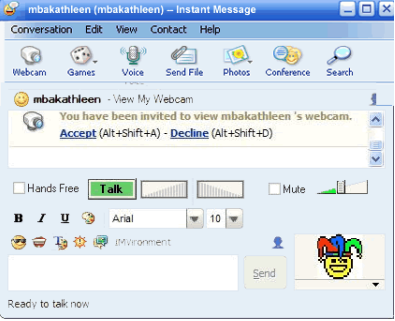 yahoo messenger how to use