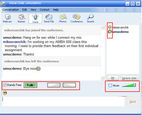 how to use yahoo messenger software