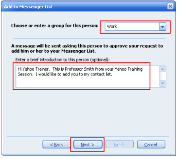 How to Use Yahoo Messenger to add friends