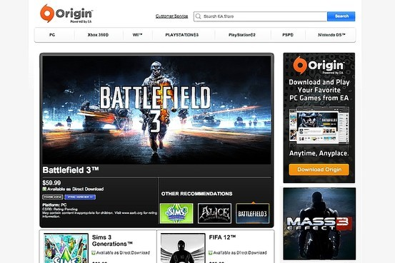 Origin setup download
