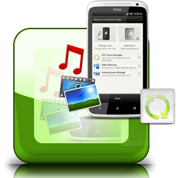 HTC Sync Manager  Sync Contacts SMS Apps Music Photos Videos Books between HTC and Computer