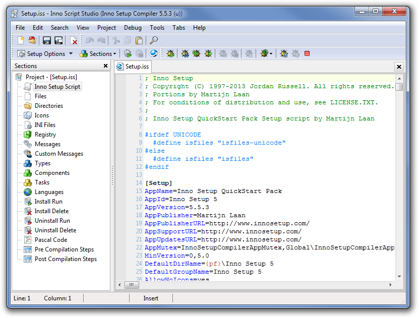 Inno Setup Compiler Free Download setup