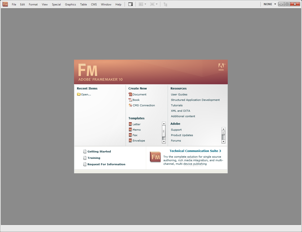 FrameMaker Free Download setup
