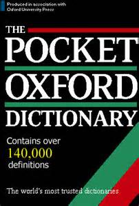 Free download pocket oxford dictionary.