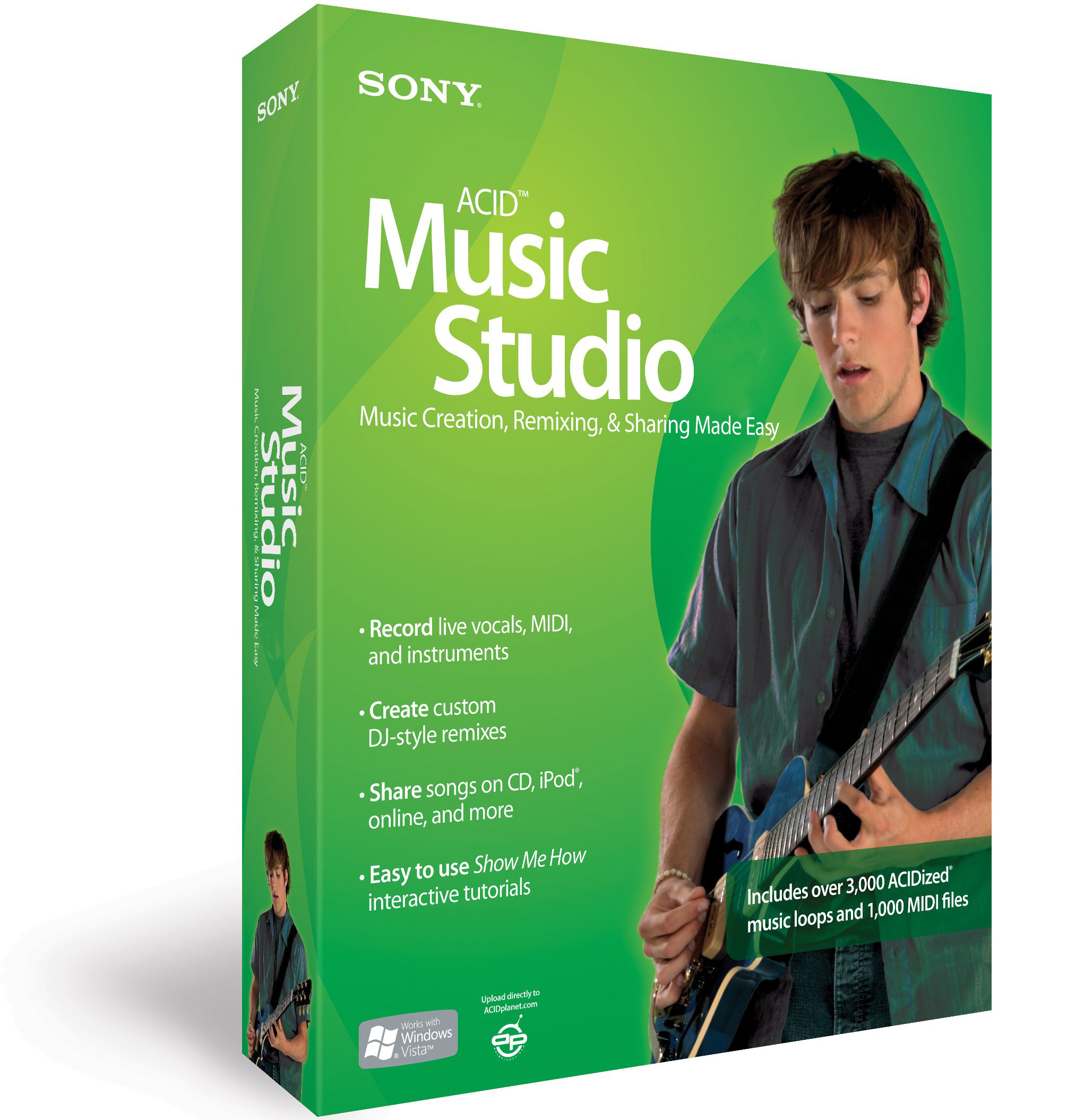Sony acid music studio 10 free download (working serials! ) video.