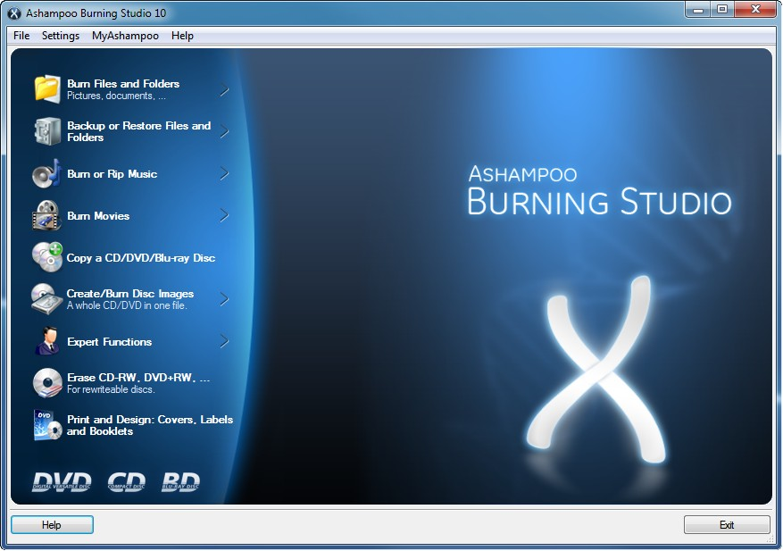 Ashampoo Burning Studio Free Download setup