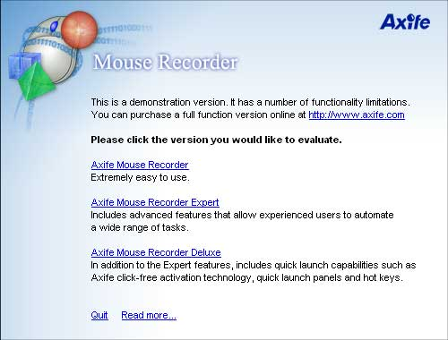 Axife Mouse Recorder software download