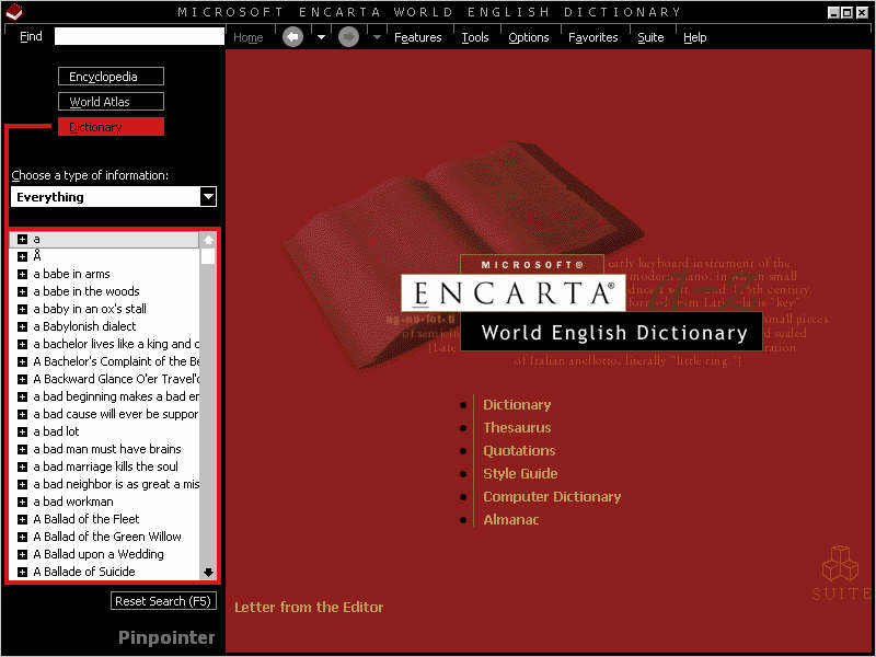 Encarta Dictionary download free