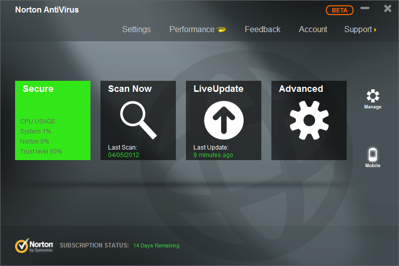 Norton Antivirus Download Free