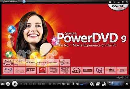 Freeware full version computer softwares collection: power dvd 7.