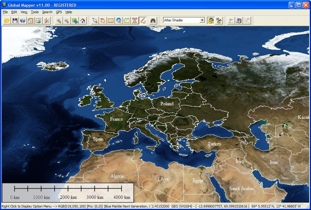 Global Mapper 15 Software