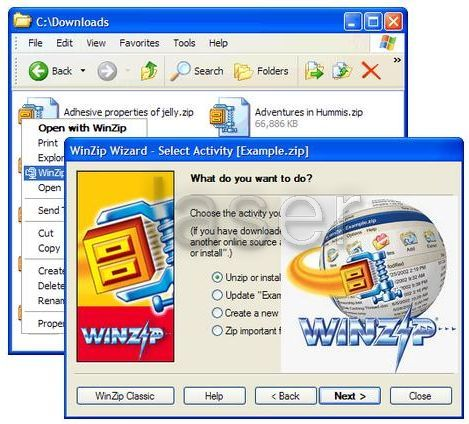 Winzip Free Download software