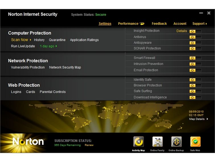 Norton Internet Security 22.11.2.7