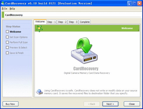 Card Recovery Free Download setup